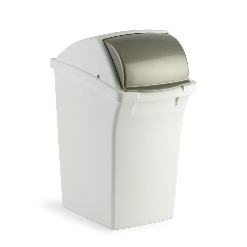 Mistral flip lid trash cans